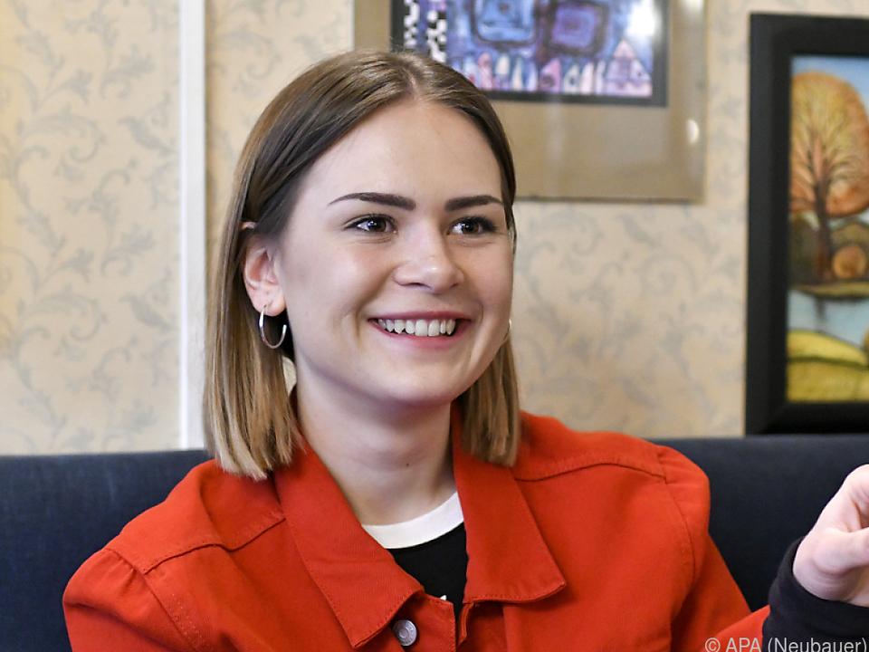 Mathea träumt von sich als Headlinerin am Donauinselfest