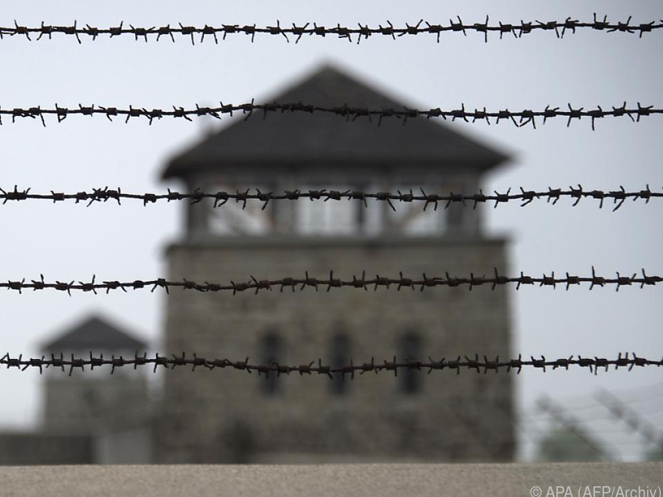 Mauthausen am 5. Mai 1945 befreit