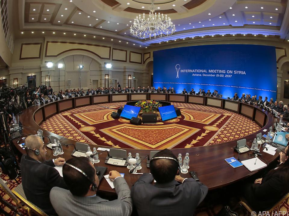 Mehrere Syrien-Treffen haben bereits stattgefunden