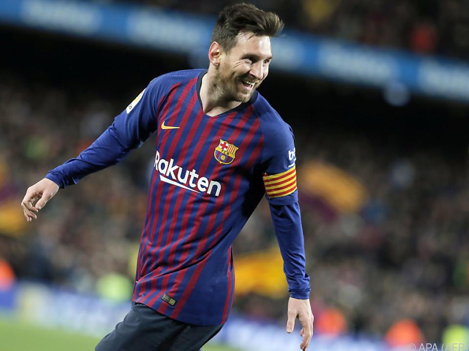Messi steht in dieser Saison bei 43 Toren und 21 Assists