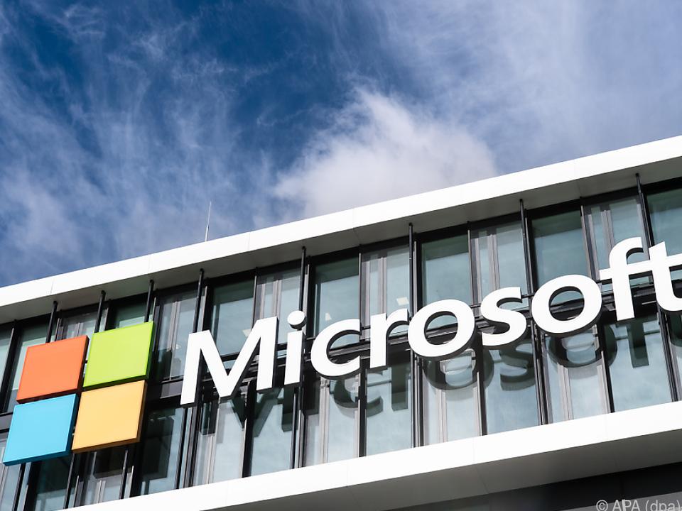 Microsoft-Börsenwert profitierte von Boom im Cloud-Geschäft