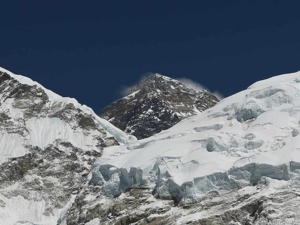 Mount Everest: Landvermesser brechen zu Messexpedition auf