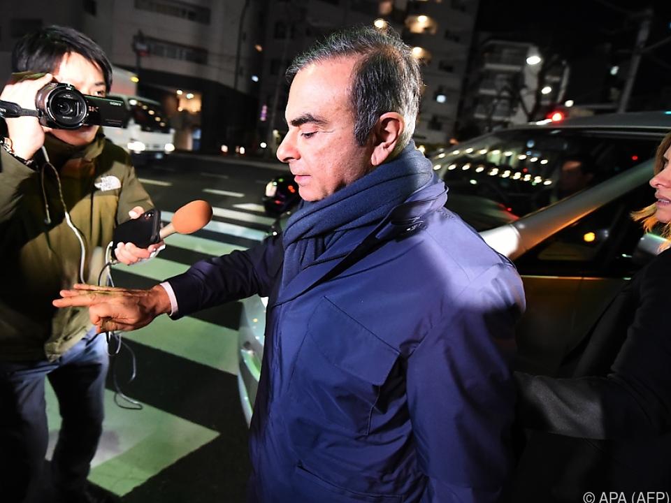 Neue Vorwürfe gegen Ghosn
