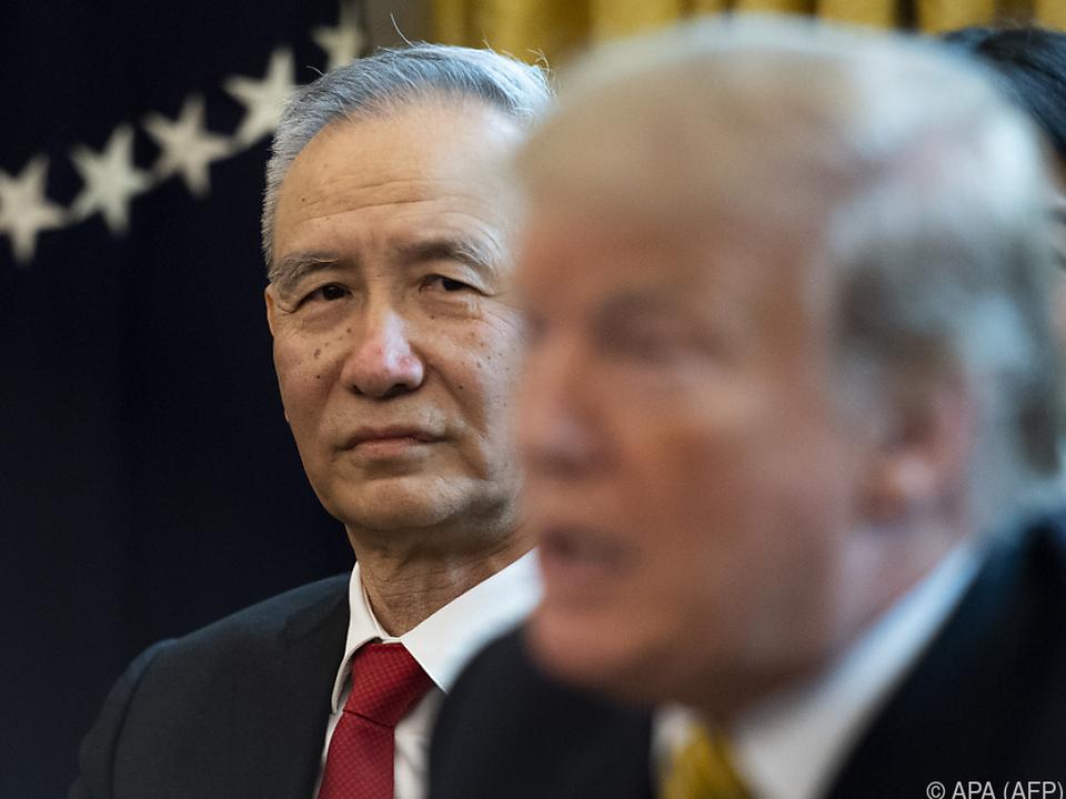 Noch ist nicht alles eitel Wonne zwischen China und den USA