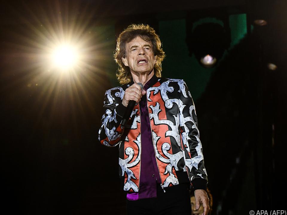 Ob Mick Jagger bald wieder auf der Bühne steht?