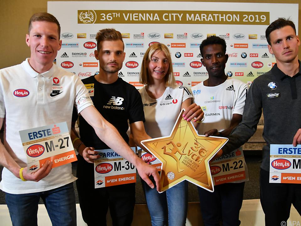 Österreichs Marathon-Hoffnungen vereint wie selten