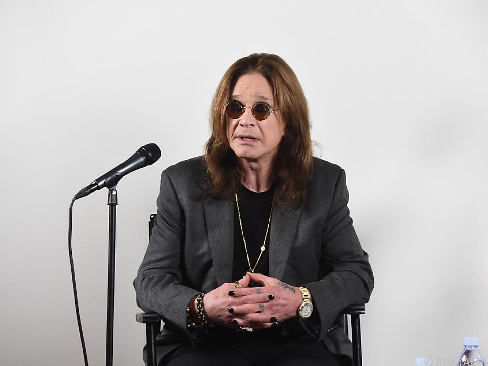 Osbourne will die Tour nach der Verletzung zu Ende bringen
