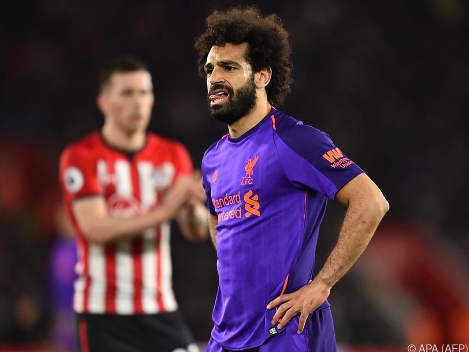 Salah brachte Liverpool wieder an die Spitze