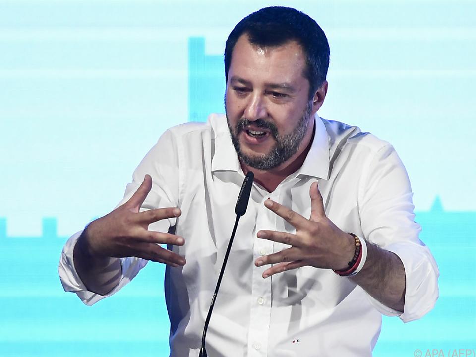 Salvini möchte die Rechtspopulisten Europas einen