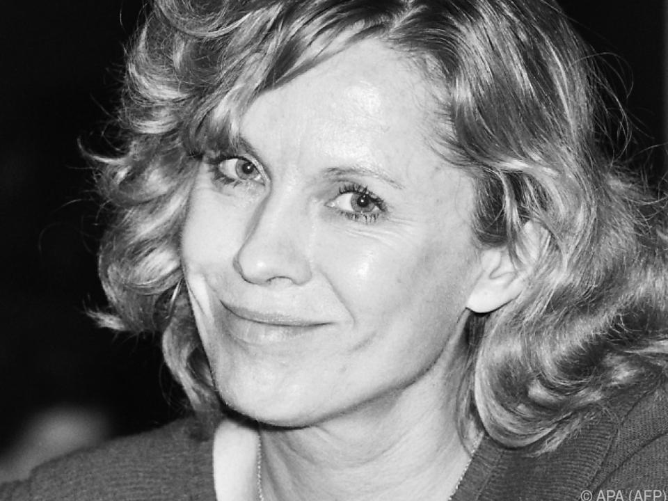 Schauspielerin Bibi Andersson auf eine Aufnahme aus dem Jahr 1981