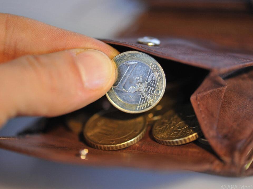 Schwache Börsen schlagen sich aufs Geldbörserl nieder