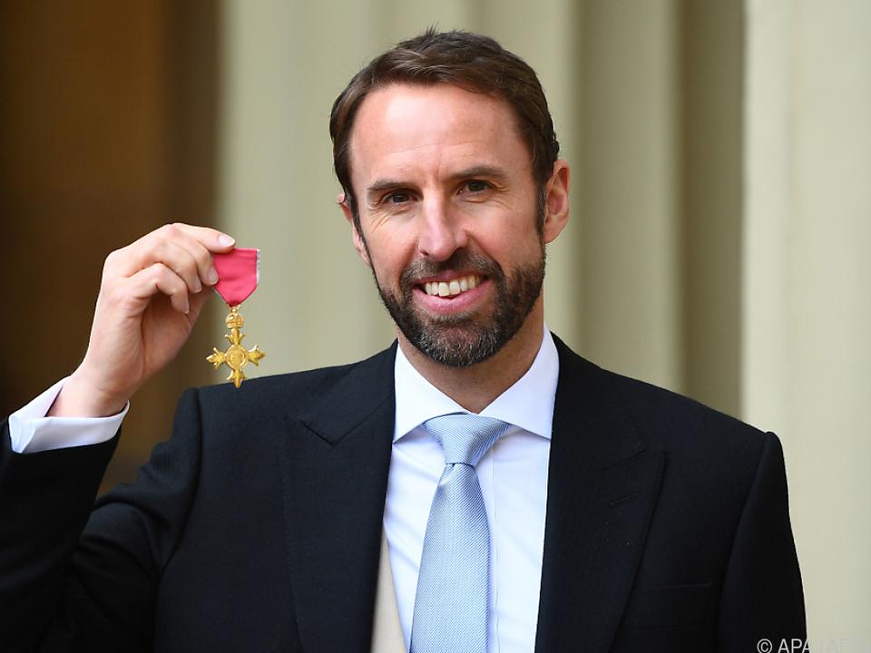 Southgate wurde vom britischen Thronfolger ausgezeichnet