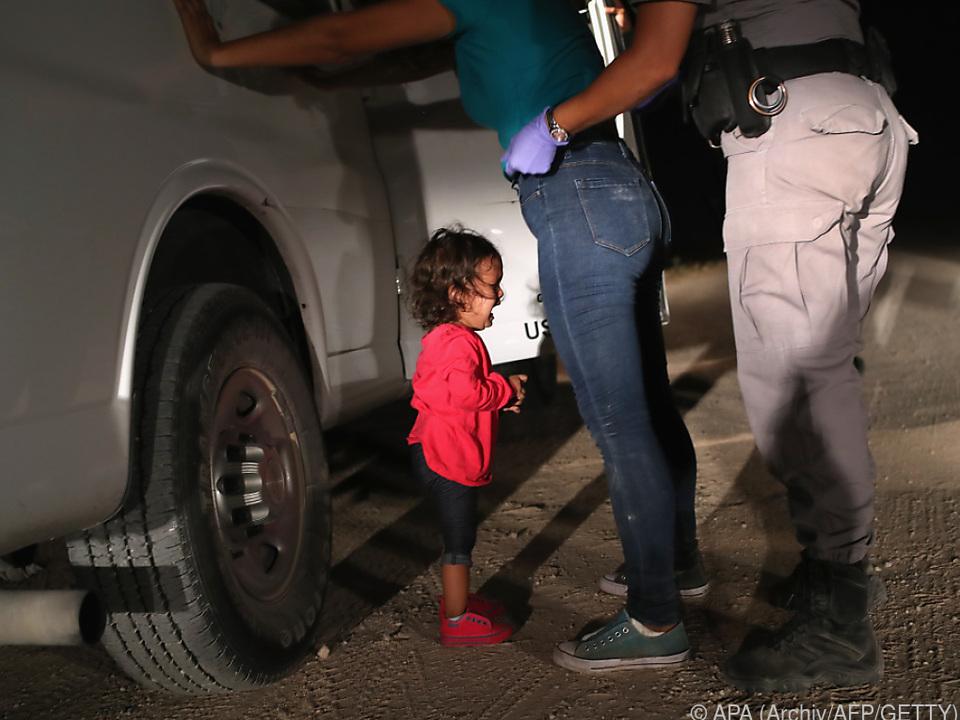 Szene mit honduranischem Kleinkind weckt Emotionen