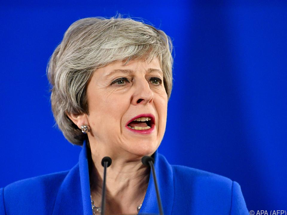 Theresa May will Brexit unter Dach und Fach bringen