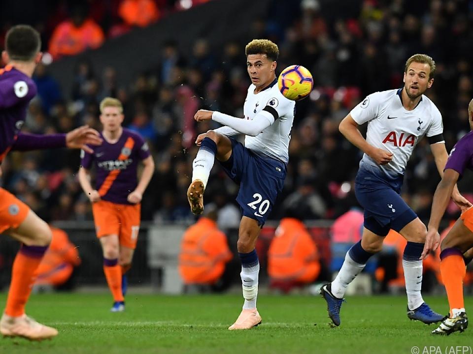 Tottenham gegen Manchester City garantiert einen englischen Aufsteiger