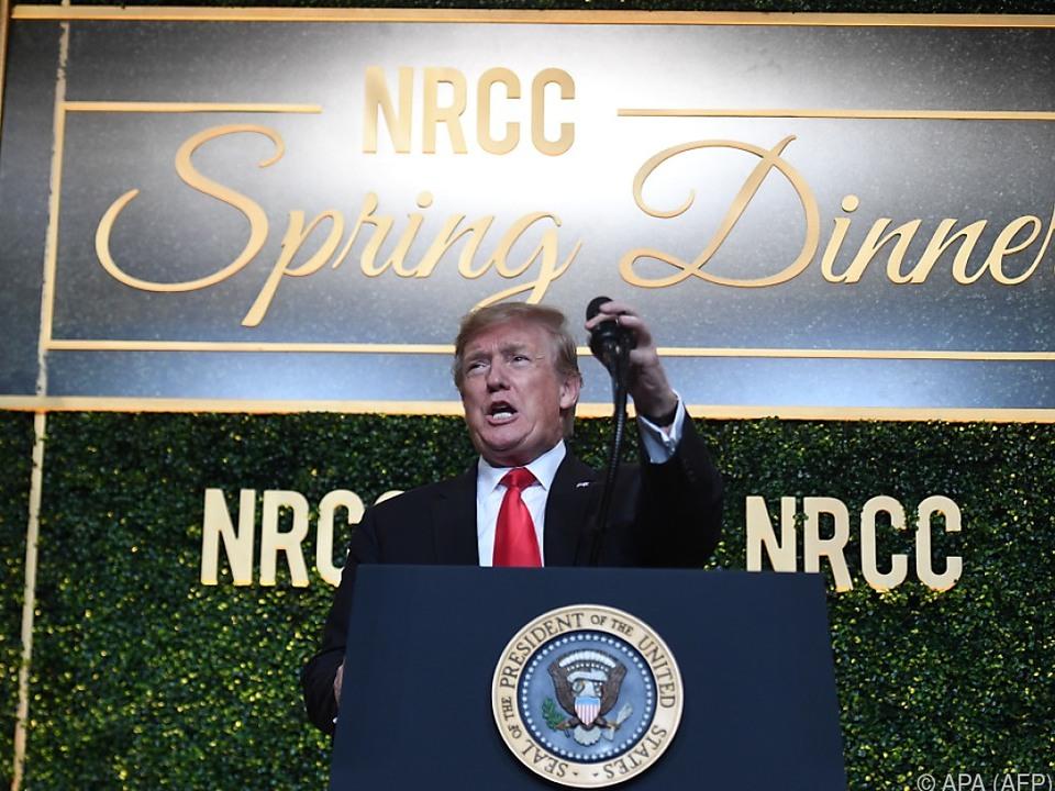 Trump redet sich auf laufende Steuerprüfungen aus