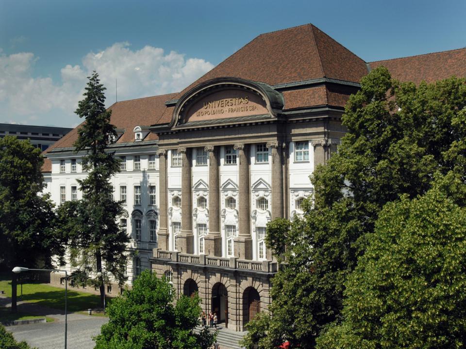 Uni Innsbruck Hauptgebäude. Foto Universität Innsbruck