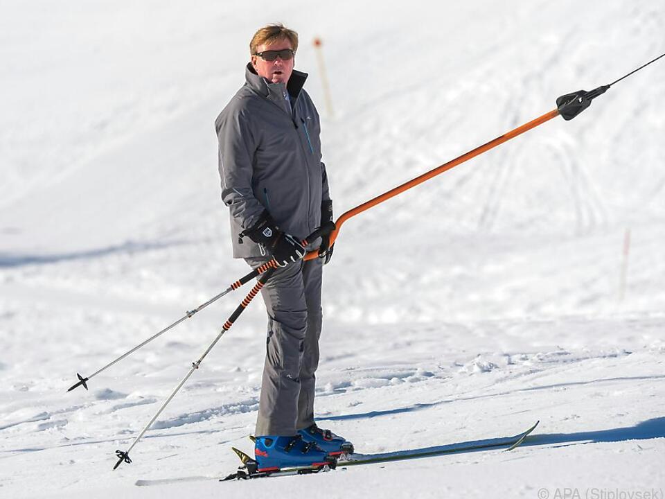 Willem-Alexander ist bekannter Sportliebhaber
