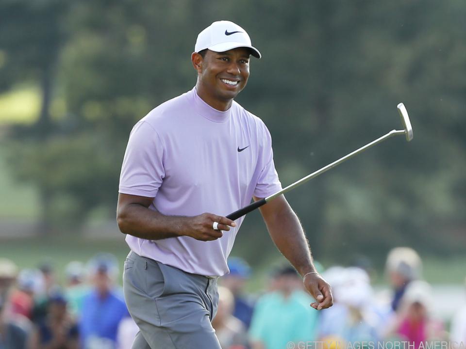 Woods hat noch Chancen auf den Sieg