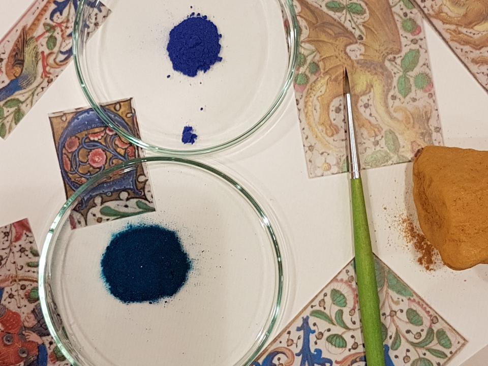Workshop historische Farben. Foto Naturmuseum Südtirol  (3)