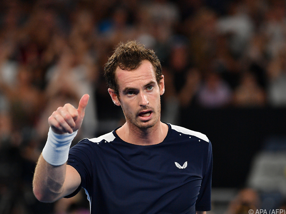 Andy Murray ist jetzt ein Ritter
