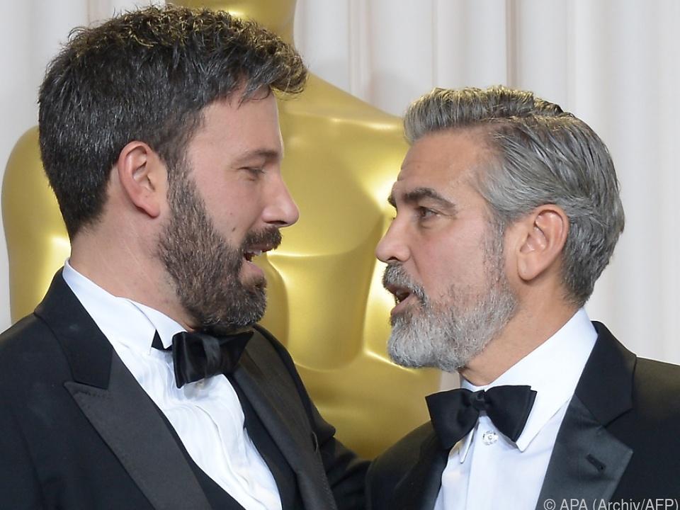 Bei der Oscar-Verleihung sprach Clooney die Warnung wohl nicht aus