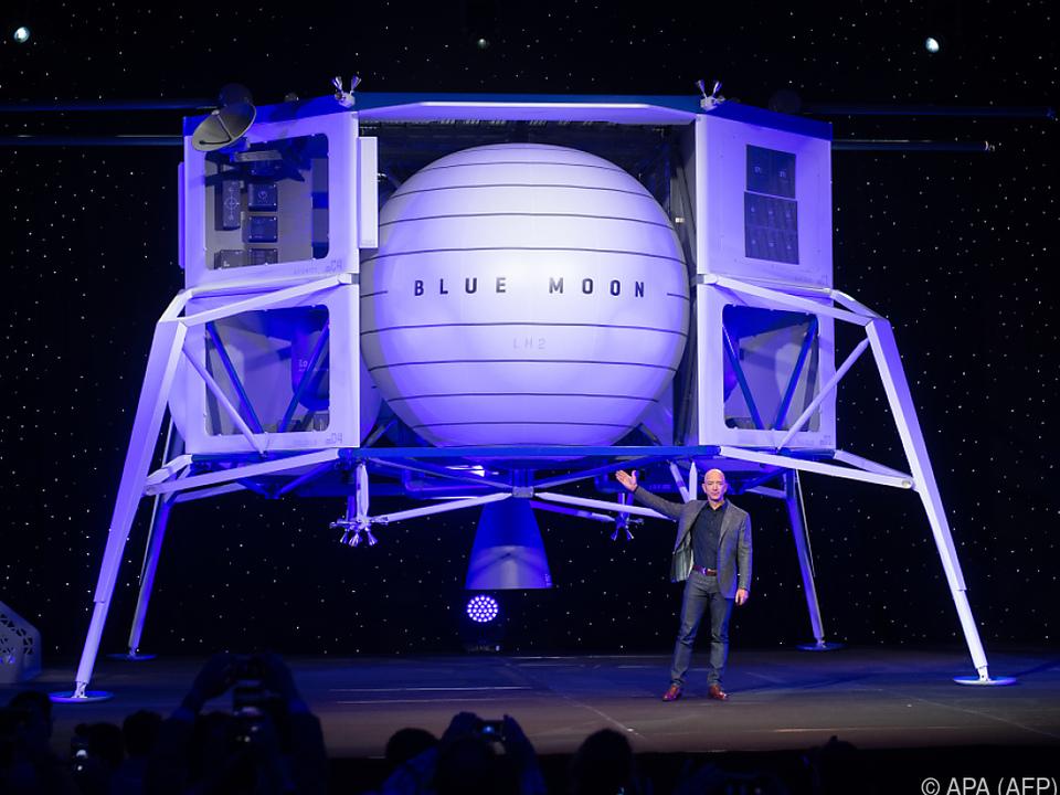 Bezos präsentierte das Raumschiff \