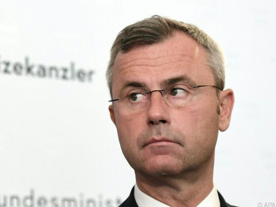 Bundesminister Norbert Hofer