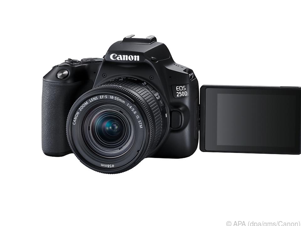 Canon EOS 250D: Spiegelreflex-Leichtgewicht mit ausgeprägten 4K-Fähigkeiten