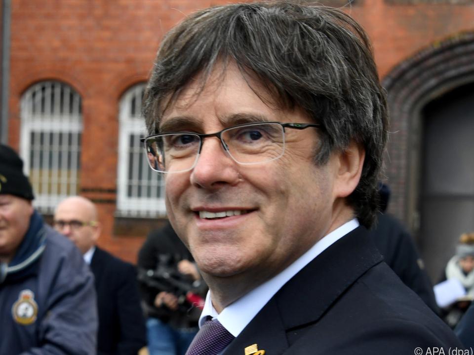 Carles Puigdemont hatte auf Rückendeckung vom EGMR gehofft
