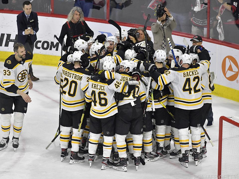 Den Bruins gelang ein Sweep