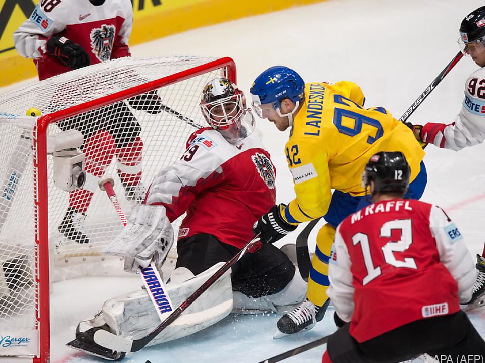 Den Schweden fiel das Toreschießen leicht