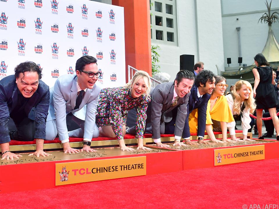 Die BBT-Schauspieler haben sich in Hollywood verewigt