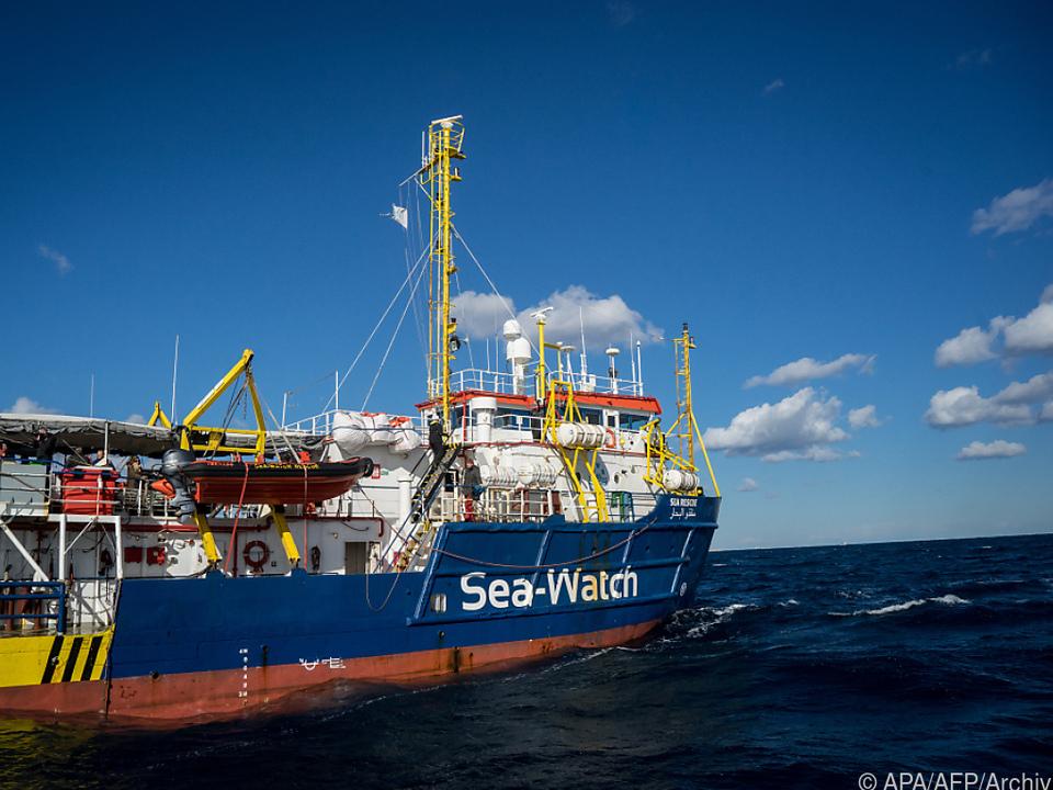Die italienische Polizei hatte das Rettungsschiff beschlagnahmt