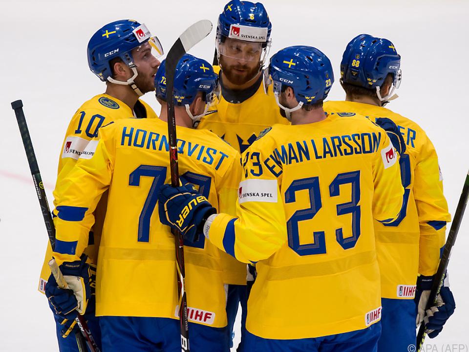 Die Schweden gehen auf einen WM-Hattrick los