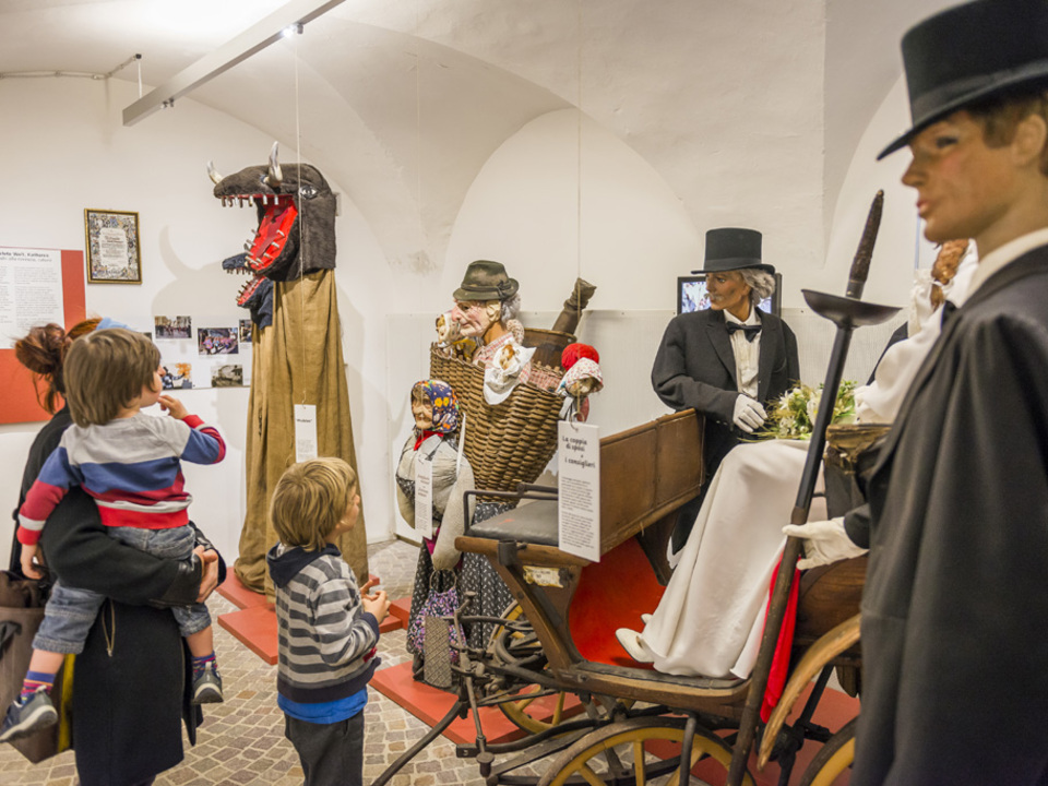 Egetmannumzug im Hoamet Museum Tramin.  foto-dpi.com