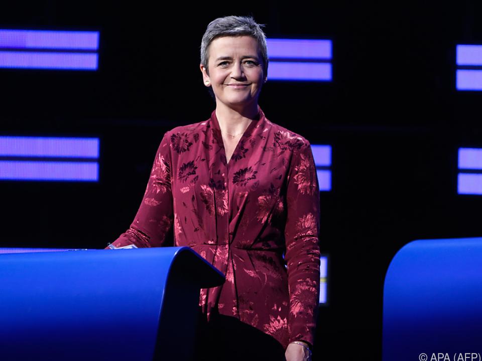 EU-Kommissarin Vestager steht auf Kundenseite