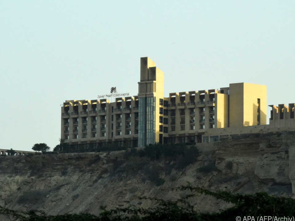 Fünf-Sterne-Hotel Zaver Pearl Continental in Gwadar auf Archivaufnahme