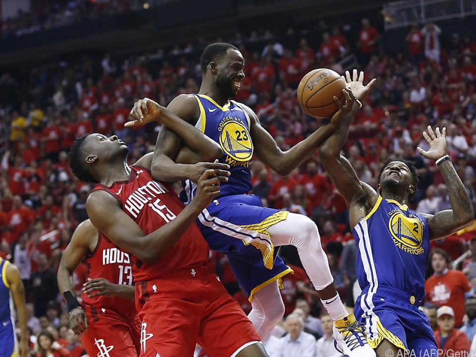 Golden State Warriors feierten 118:113-Sieg bei den Houston Rockets