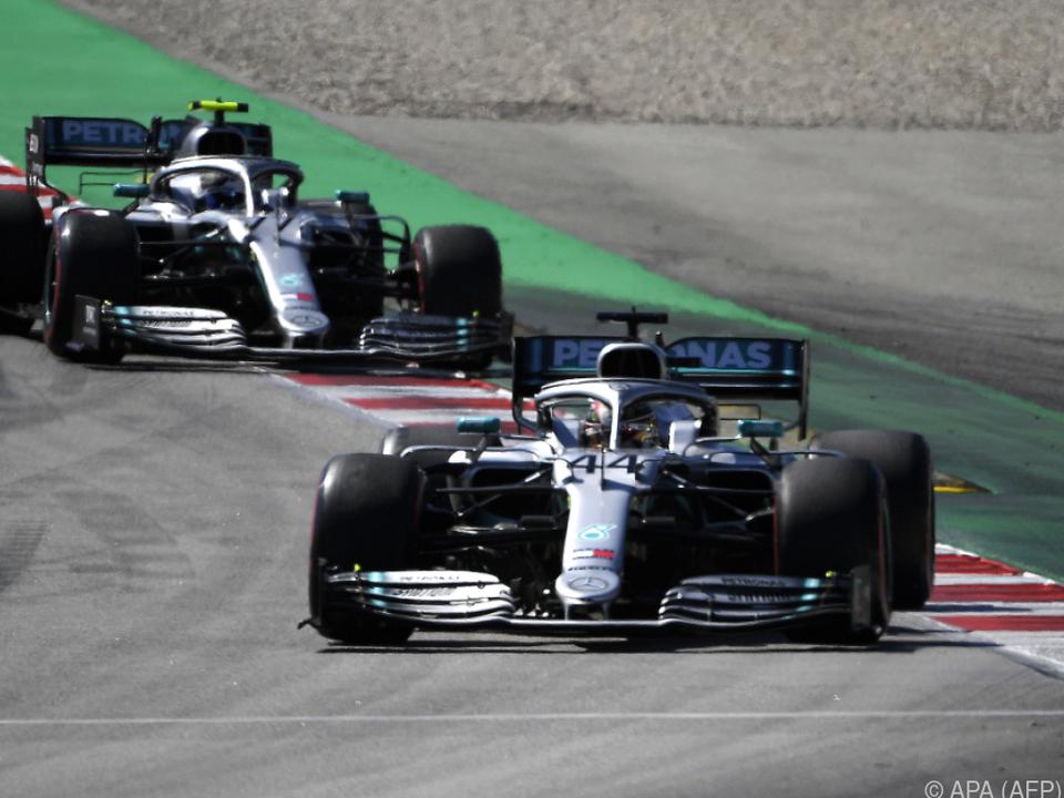 Hamilton holte sich den Sieg in Spanien
