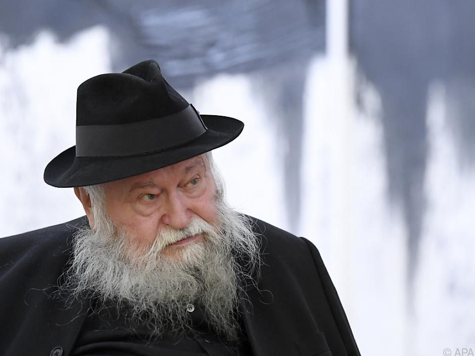 Hermann Nitsch ist ein Künstler der alle Sinne anspricht