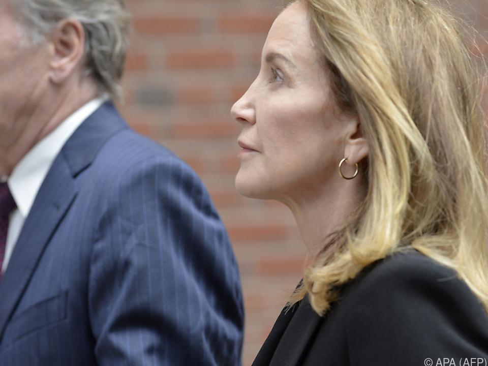 Huffman bekannte sich offiziell schuldig