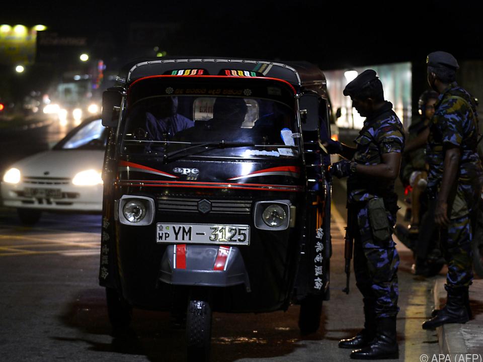 In Sri Lanka gehen weiter die Wogen hoch