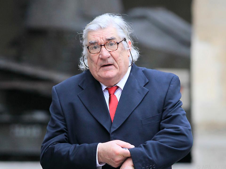 Jean-Claud Brisseau auf einer Aufnahme aus dem Jahr 2012