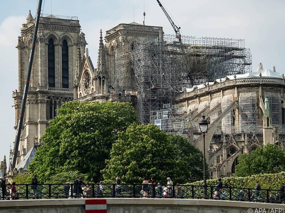 Kathedrale Notre Dame soll innerhalb von fünf Jahren restauriert werden