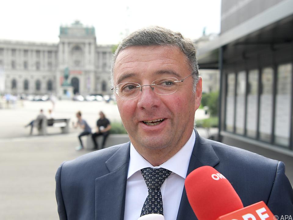 Leichtfried sieht keinen Unterschied mehr zwischen ÖVP und FPÖ