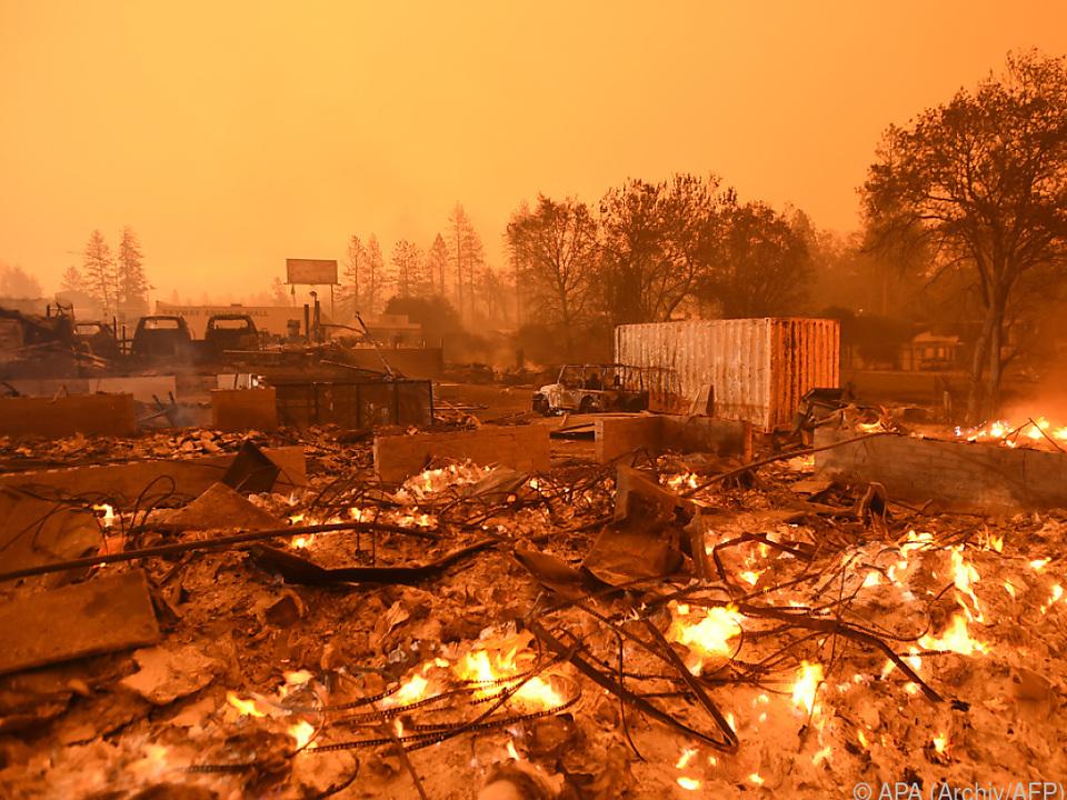 Mehr als 18.000 Gebäude brannten nieder