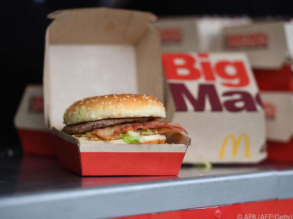 Mehr als Burger für US-Bürger bei McDonald\'s