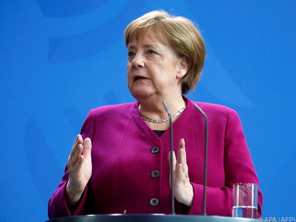 Merkel werde \