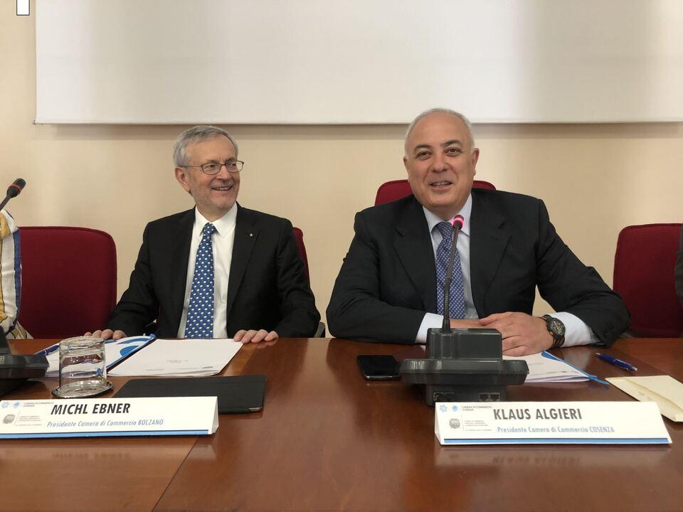 Michl Ebner (links) und Klaus Algieri (rechts) (c) hk Cosenza (1)
